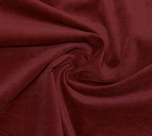 Hertz & Co. Velour Bomuld M/ Stretch - Bordeaux